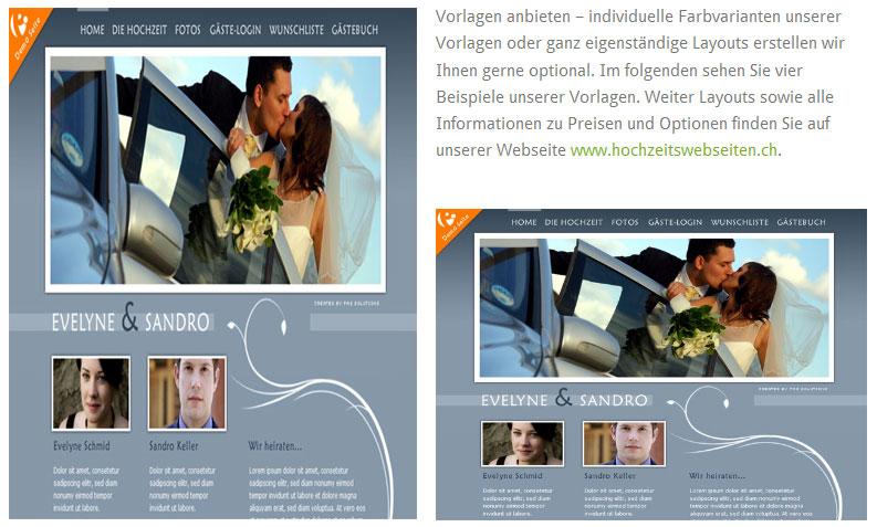 Darstellung WordPress