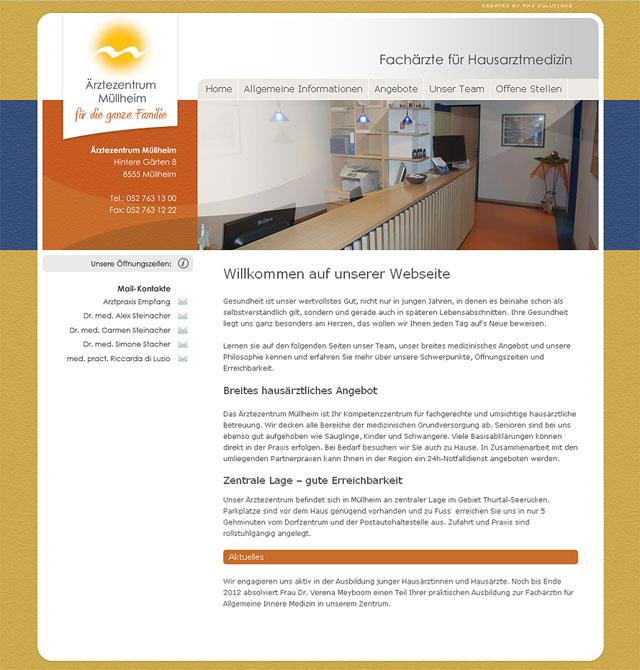 Ärztezentrum Müllheim - Startseite