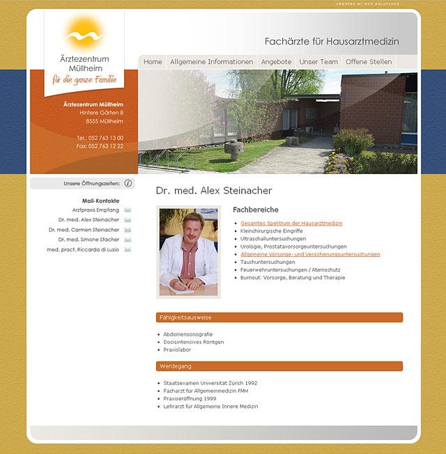 Ärztezentrum Müllheim - Folgeseite
