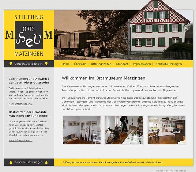 Ortsmuseum Matzingen