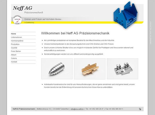 Neff AG, Präzisionsmechanik
