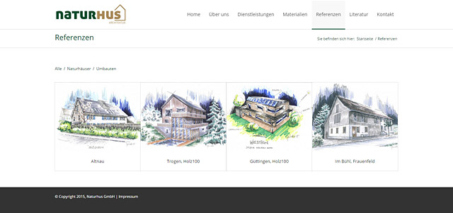 Naturhus GmbH - Referenzen