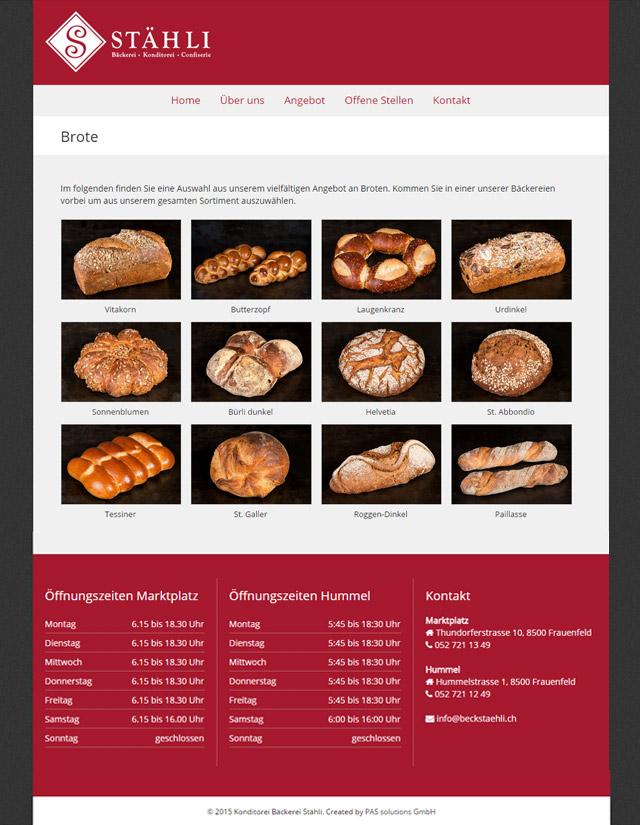 Bäckerei Stähli, Frauenfeld