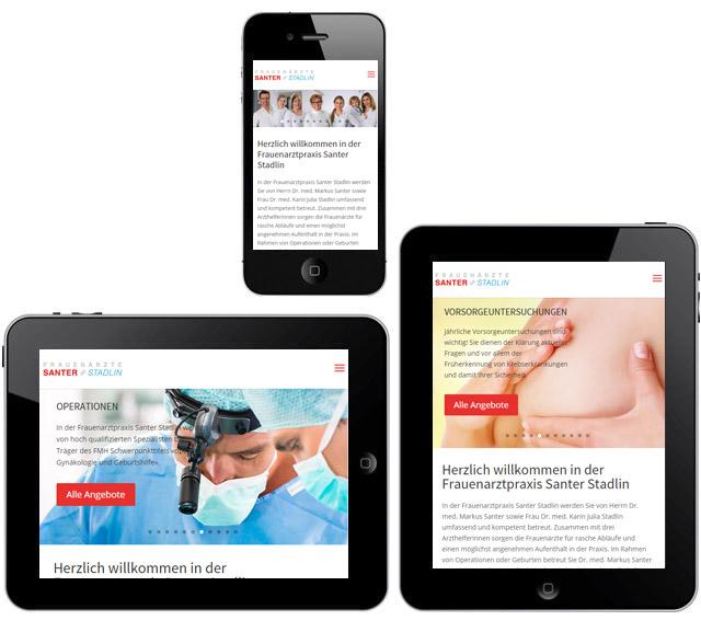 Santer Stadlin, Responsive Webdesign