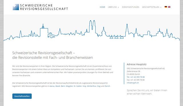 Schweizerische Revisionsgesellschaft Startseite