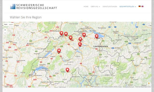 Schweizerische Revisionsgesellschaft Geschäftsstellen